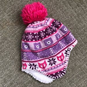 North Face Fair-isle Hat for Infant Girls (6-24M)